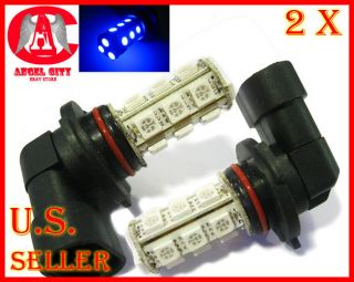 18 LED 5050 SMD 9006 HB4 Car Automotive Fog Light Lamp Bulb Blue 12V