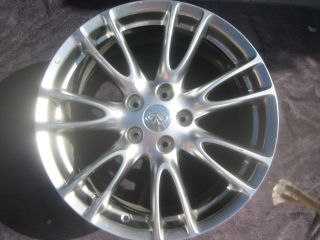 INFINITI G35 G37 07 11 18 OEM (4) FOUR FACTORY ALLOY RIMS WHEELS