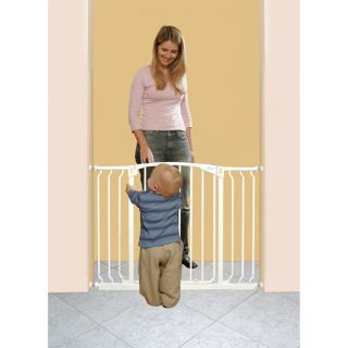Baby Swing Closed Gate w/ 2 Extensions Baby Dog Pet Infant Safety Gear