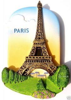 Eiffel Tower Paris,France,r​esin 3D Fridge Magnet Europe