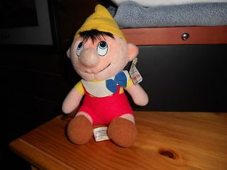 WALT DISNEY PINOCCHIO DOLL 8 WITH TAGS