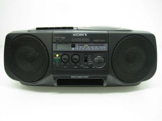 Sony Boombox CFD V30 Portable Stereo CD Cassette Player Recorder