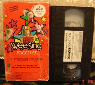 Wee Sing Together A Magical Musical Adventure Weesing Vhs Video Plays