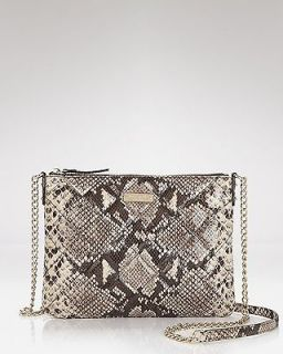 NWT Kate Spade Gold Coast Ginnie crossbody in snake print. FREE SHIP