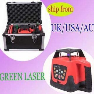 SELF LEVELING AUTOMATIC ROTARY GREEN BEAM LASER LEVEL 500M NEWEST e2