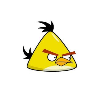 Angry Birds Yellow Bird ~ Edible Image Icing Cake, CupcakeTopper