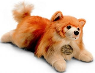 Berrie Yomiko Classics Golden Pomeranian Dog Soft Plush Toy Medium