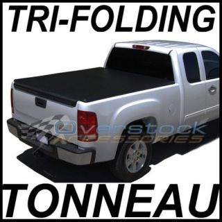 Ford F 150 5.5ft Short Bed TRI FOLD Tonneau Cover 2009 2012 Truck Bed