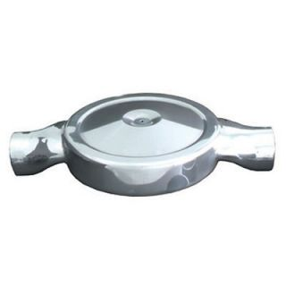 Spectre 98629 Low Profile Air Box 14 Polished Dual