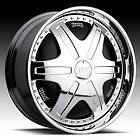 22 DUB SPIN Trump Wheel SET 22x9.5 Chrome Rims for RWD 5 & 6 Lug