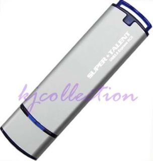 Super Talent 16GB 16G USB 3.0 Flash Drive Metal Case EXPRESS ST2 BLUE