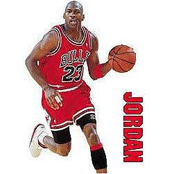 BiG MICHAEL JORDAN Wall/Car DECALS STICKERS Basketball