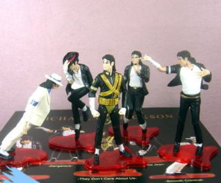 new michael jackson world tour box set dolls boxed 5pc
