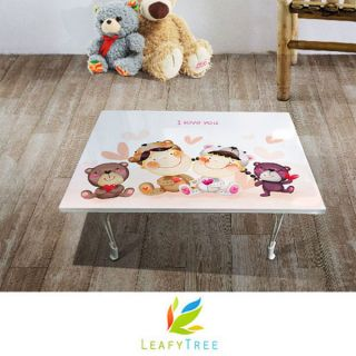Hyundai Hmall Korea high glossy simple folding floor table children
