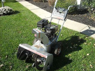 Craftsman 7HP 26 2 Stage Self Propelled Snow Blower with Tire Chains