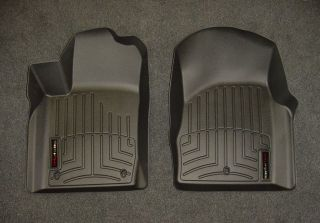 WeatherTech Digital Black Front Floor Mats Liners 2011 2012 Dodge