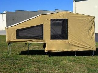 2013 Motorcycle Camping Trailer Pull Behind Camper Tow Travel Pop Up