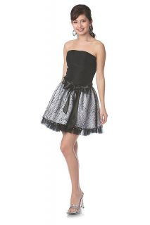 COCKTAIL PARTY SHORT DRESS BIG BOW BIRTHDAY DRESS PROM DANCE