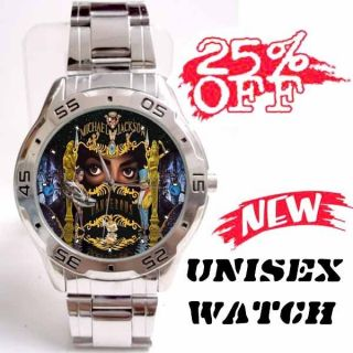 New Michael Jackson Dangerous UNISEX Analog Watch Gift