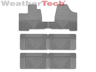 WeatherTech® All Weather Floor Mats   Toyota Sienna   2004 2010