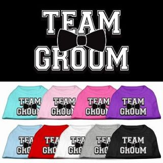 Dog Pet Puppy Team Groom Screen Tee Shirt Clothes Apparel Pajamas 9
