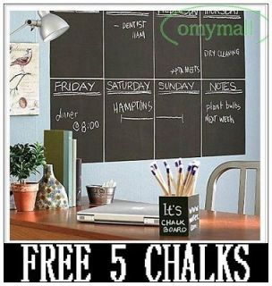 200CMX45CM Chalkboard Chalk Board Blackboard Removable Vinyl Wall