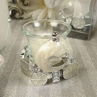 Cinderella Coach Carriage Candle Favors WEDDING/ QUINCEANERA