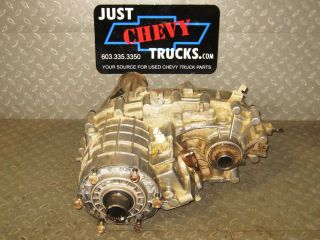 01 03 Chevy Silverado GMC Sierra 2500 3500 Transfer Case NV 261 HD NP2