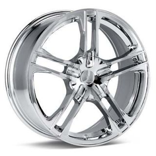 15 inch Verde Protocol Chrome Wheels Rims 5x4.5 Sebring Town & Country