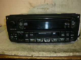03 04 Dodge Jeep Chrysler PT Ram Liberty Neon 300 Radio Cd Cassette