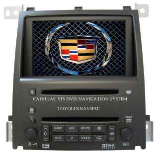 OEM GM GM CADILLAC STS NAVIGATION SYSTEM RADIO 6 DISC CD DVD RADIO