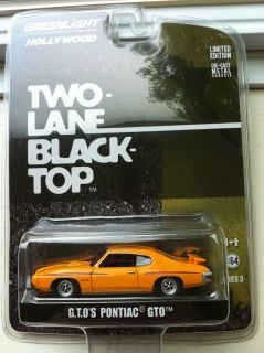 GL Hollywood Series 3 Two Lane Black Top G.T.Os Pontiac GTO. New