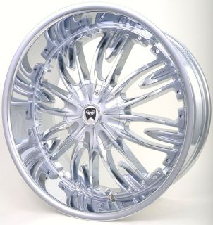 GWG G36 20 CHROME WHEELS RIMS CHRYSLER 300C AWD ONLY (05&UP) CONCORD