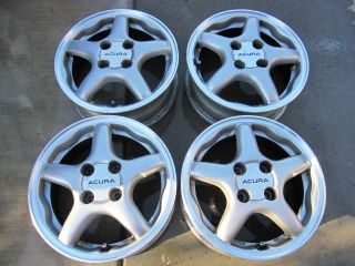 14 Honda Acura Integra Civic Del Sol OEM genuine factory alloy wheels