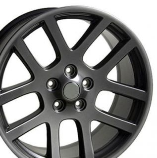 22 SRT10 Dodge Ram Laramie Hemi Durango Factory Style Wheels Rims