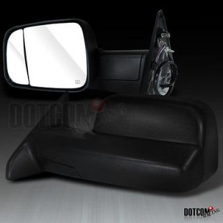TOW TRAILER POWER MIRROR LH+RH 2009 12 DODGE RAM 1500 (Fits Dodge)