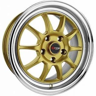 15 5 LUG DR16 GOLD WHEEL RIMS LEXUS IS300 GS/SC 300 400
