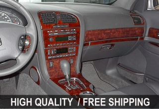 Mitsubishi Montero Sport 00 04 INTERIOR WOOD GRAIN DASHBOARD DASH KIT