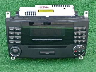 Original OEM Mercedes Benz C CLK Class In Dash Stereo Radio CD Player