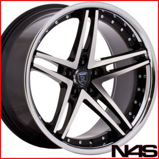 19 VOLKSWAGEN CC ROHANA RC5 MACHINED CONCAVE WHEELS RIMS