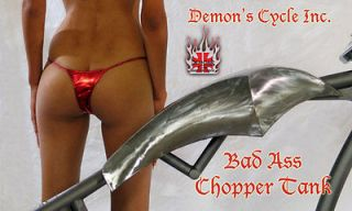 CUSTOM CHOPPER GAS TANK RADICAL FUEL TANKS FITS HARLEY DAVIDSO​N