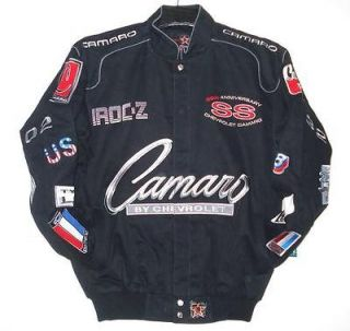 SIZE 2XLARGE NASCAR GM Chevrolet Camaro EMBROIDERED Racing Cotton
