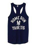 Victorias Secret New York Yankees Racerback Tank Brand New