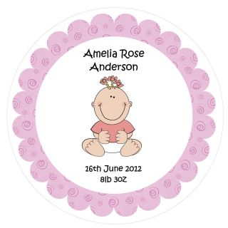 PERSONALISED Edible Cake Toppers   New Baby Boy   Various sizes