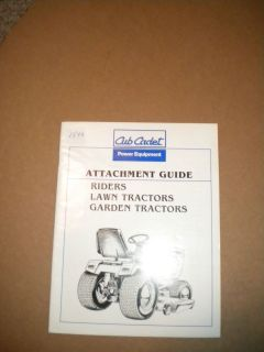 CUB CADET ATTACHMENT GUILD FOR CUB CADET TRACTORS  1540​A
