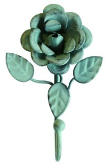 DECORATIVE SHABBY CHIC TIEBACK HOOK   LILY/ROSE