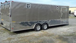 NEW 7X14 TANDEM AXLE ENCLOSED CARGO TRAILER MOTORCYCLE ATV 16ft 14ft