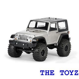 Proline 1/10 Rock Crawler Jeep Wrangler CLEAR Body PRO3322 00
