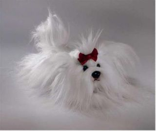 RUSS Yomiko Classics Maltese Dog Soft Plush Toy Medium