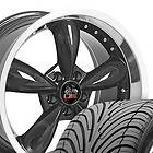 18 9/10 Black Bullitt Wheels Nexen Tires Bullet Rims Fit Mustang® GT